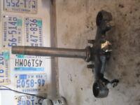 Honda Ruckus Tripple Tree Black 0800-1097 Metropolitan Steering Stem