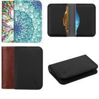 Business Card Holder Case RFID Blocking Credit Cards ID Card Wallet Organizer