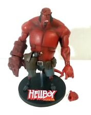 ANIMATED HELLBOY Gentle Giant Loose Deluxe Action Figure with gun & stand