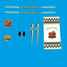 Peugeot Années 1960 Vélo Cadre Stickers - Décalques - Transferts n.150
