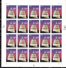 USA 2002 MNH $13.65 CAPITAL DOME ISSUE - FULL SHEET OF 20