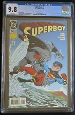 Superboy #9 CGC 9.8 W First App King Shark. Suicide Squad! Shipping Included!