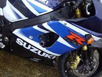 R&G Racing Crash Protectors to fit Suzuki GSXR 1000 K3-K4 2003-2004
