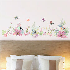 Flowers Bird Butterfly Home Room Decor Removable Wall Sticker Decal Decorations