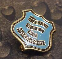 Auburn West Public School vintage pin badge NSW Australia