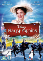 Mary Poppins [DVD] Disney new sealed with limited edition sleeve/free post