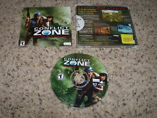 Conflict Zone Modern War Strategy (PC 2001) Mint Game