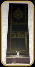 1958 WISCONSIN BADGERS WISCONSIN UNION FOOTBALL MATCHBOOK SCHEDULE FREE SHIPPING