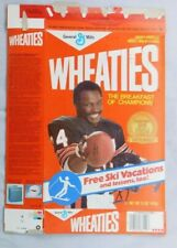 Walter Payton Bears  Wheaties Cereal Box 12 oz