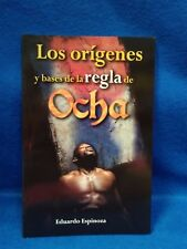 LIBRO LOS ORIGENES y bases de las reglas de OCHA  yoruba religion ifa santeria