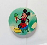 Vintage Disney Pin  Badge  Mickey Mouse stool Ice cream 3cm's