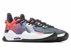 Nike PG5 EP [CW3146-600] Men's Basketball Shoes 10 US - Bright Crimson/Black NIB
