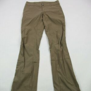 Columbia Hiking Pants Women's Relaxed Fit Size 6 Brown Activewear Omni Shield