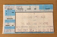1990 SINEAD O'CONNOR LOS ANGELES CONCERT TICKET STUB NOTHING COMPARES 2 U