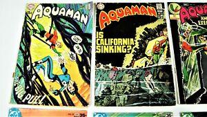 Aquaman-Bronze Age- 8 Book Lot