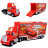 Pixar Disney The Cars #95 Mcqueen Mack Hauler Trailer Truck Diecast Toy