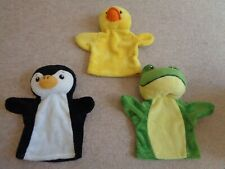 THE PUPPET COMPANY MY FIRST HAND PUPPET FROG PENGUIN DUCK