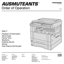 AUSMUTEANTS ORDER OF OPERATION GONER RECORDS LP VINYLE NEUF
