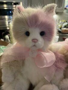KittyCat Charlie Bears Kitty Brand New!  Plush Adorable Face!