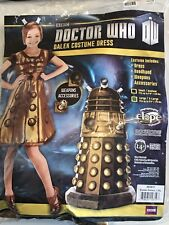 "DOCTOR WHO Dalek Costume Dress SIZE L/XL Fits Up To 5'9"" 170 lbs. NEW IN PACKAGE"