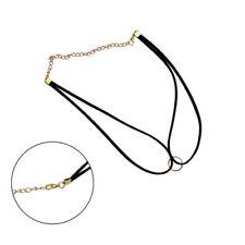 Oval Charm Choker Costume Necklaces & Pendants