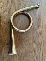 Vintage Working Copper Brass Horn Medium