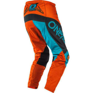 Gr/ö/ße 30 ONeal Element Shred Motocross Hose Enduro MX FR Motorrad Downhill MTB DH Cross Freeride 010E-Adult Farbe Orange
