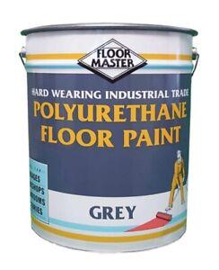 FloorMaster GREY Industrial Garage Floor Paint 20 L