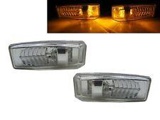 E-CLASS W124 MK1 1986-1995 2D/4D LED Side Marker Light Chrome for Mercedes-Benz