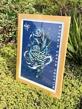 """Milagro Tequila Poster Beer Bar Pub Glass Frame Mirror Man Cave """"New"""""""