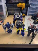 Transformers Titans Return Octone Complete Voyager lot of 4