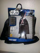 New 2010 Star Wars Darth Vader Halloween Costume Size 12-14 and Star Wars Sack