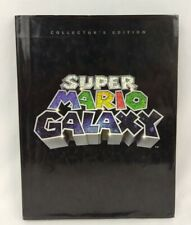 Super Mario Galaxy Collector's Edition Prima Official Strategy Guide Book Wii