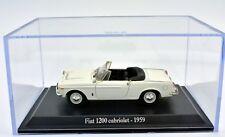 MODELO AUTO FIAT 1200 ESCALA 1:43 DIECAST MINIATURAS COCHE NOREV CAJA