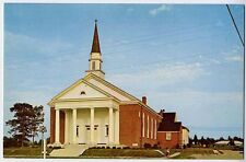 SUFFOLK VA early Bethlehem Christian Church c postcard
