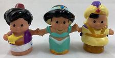 Fisher Price Little People Disney Princess Jasmine Prince Aladdin Lamp Lot