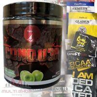 CONQU3R - Stärkste PreWorkout Booster Muskelaufbau Conquer Olympus Labs + BONUS