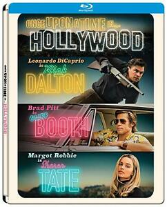 Once Upon A Time In… Hollywood [Blu-ray im Steelbook/NEU /OVP] Quentin Tarantino