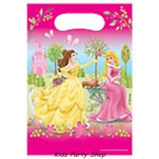 DISNEY PRINCESS SUMMER PALACE  BIRTHDAY PARTY - 6 Loot Bags - Free Post in UK