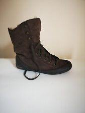 Womans Brown Cat Ankle Boots UK 7
