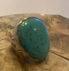 Silpada .925 Sterling Silver Turquoise Ring~Size 9~R2017
