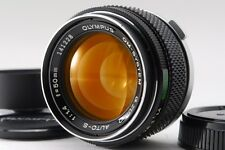 [NEAR MINT] Olympus G.Zuiko Auto-S 50mm F/1.4 w/ Hood from japan #81