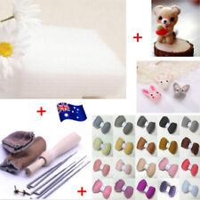20 Colour DIY Wool Needles Felt Tool Set + Needle Felting Mat Starter Kit