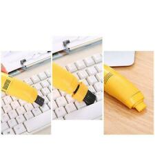 Mini Computer Vacuum USB Keyboard Cleaner PC Laptop Kits Cleaning New Dust R4E4