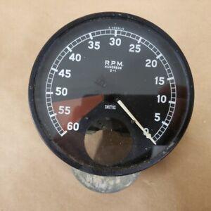 Jaguar XK120 XK140 Original Tachometer RPM Gauge Smiths X49035/5 OEM