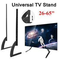 Universal Tabletop TV Stand Pedestal Mount Monitor Riser LCD LED Flat Screens US