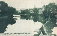 GRANBY QC – Granby from Irwin Bridge - 1908