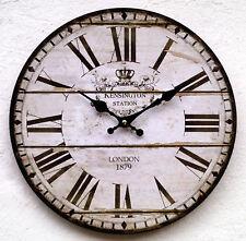 Wanduhr Küchenuhr antik Design modern Küche Vintage Quarzuhr Uhr Retro groß K