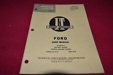 Ford Major Diesel Power Major Diesel Tractor I&T Shop Manual SMPA