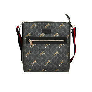 Gucci Bestiary Messenger Bag with Tigers
